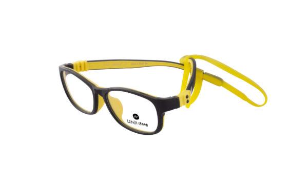 LU 122 Black yellow scaled