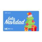Gift Card Navidad Azul