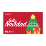 Gift Card Navidad Rojo