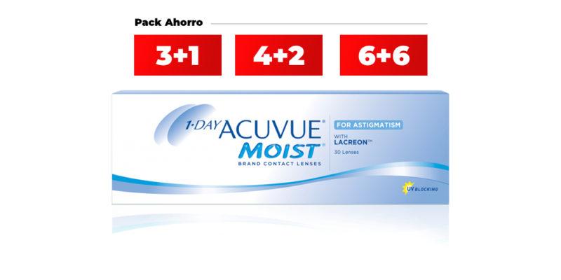 1-day Acuvue Moist Para Astigmatismo