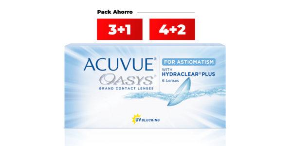 acuvue oasys toric para astigmatismo