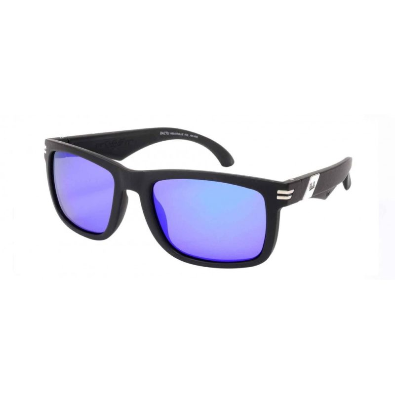 Vulk Sol Baztu Mblk/Revo Blue Polarizado
