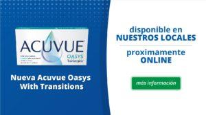 Nuevos Acuvue Oasys With Transitions + [7 Beneficios]