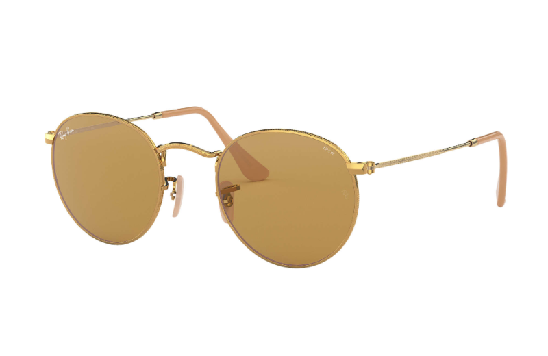 Ray Ban Sol Round Metal Rb3447 9064/41